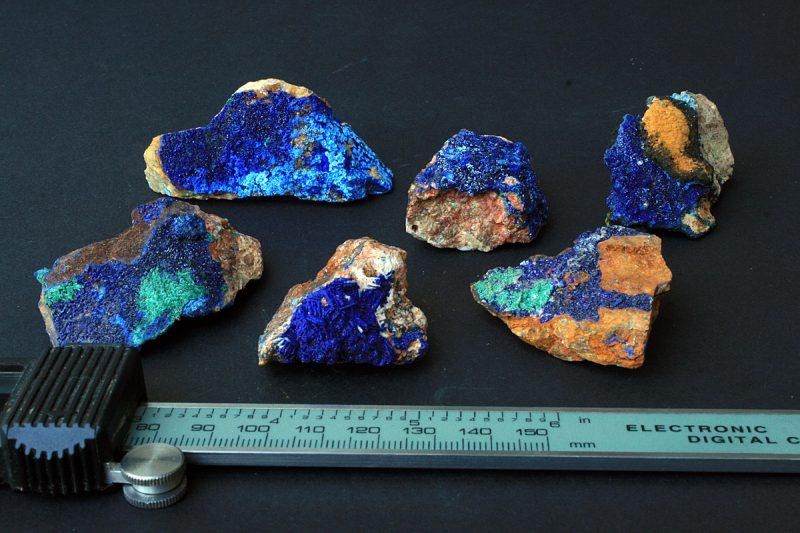 minerali azurit malahit