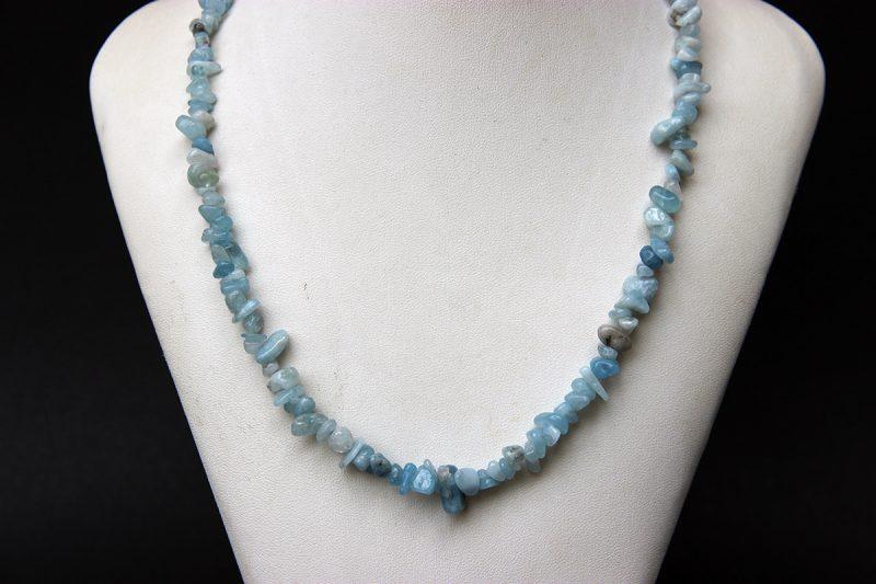 ogrlica od akvamarina