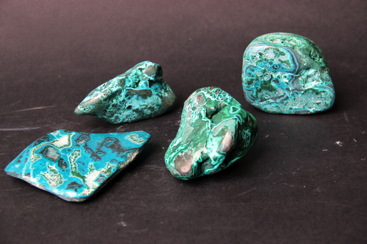 plavi mineral Krizokola