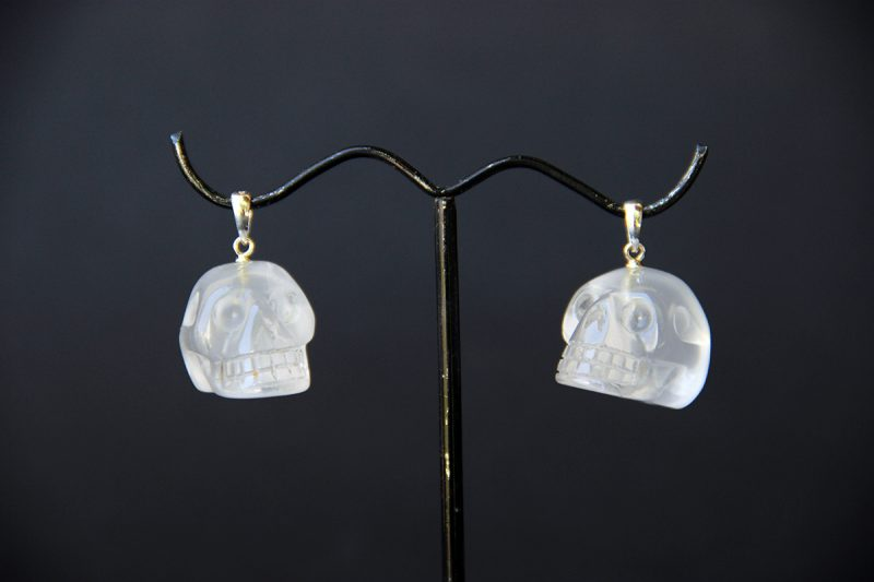 privjesak kristalna lubanja