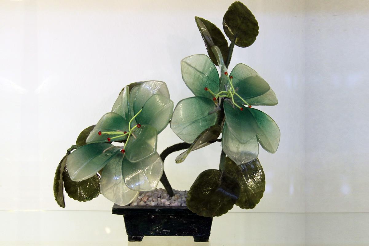 cvijet od zelenog žada