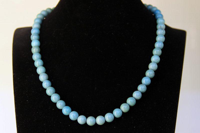 ogrlica plavi tirkiz