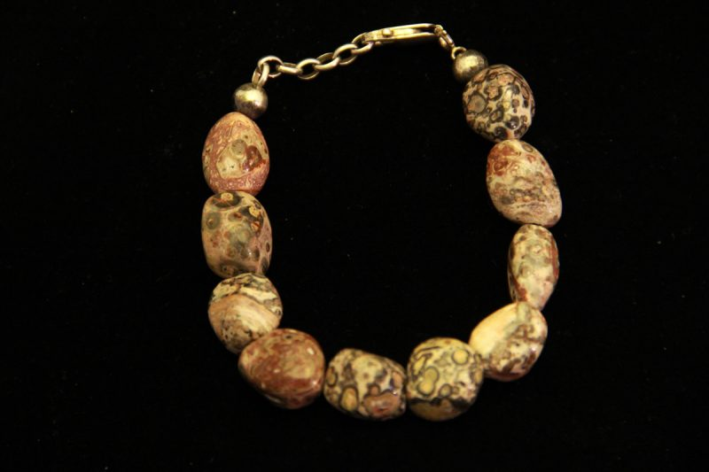 jaspis leopard, poludragi kamen, mineral