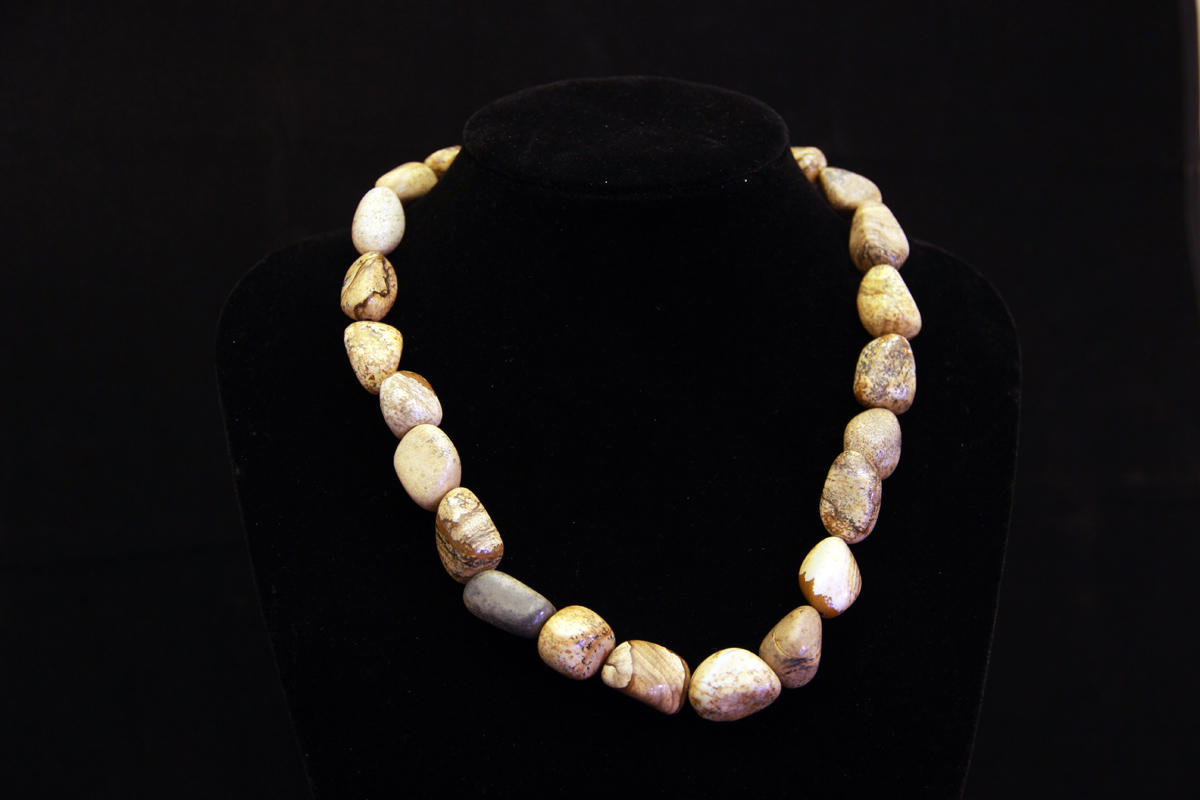 ogrlica zemljani jaspis
