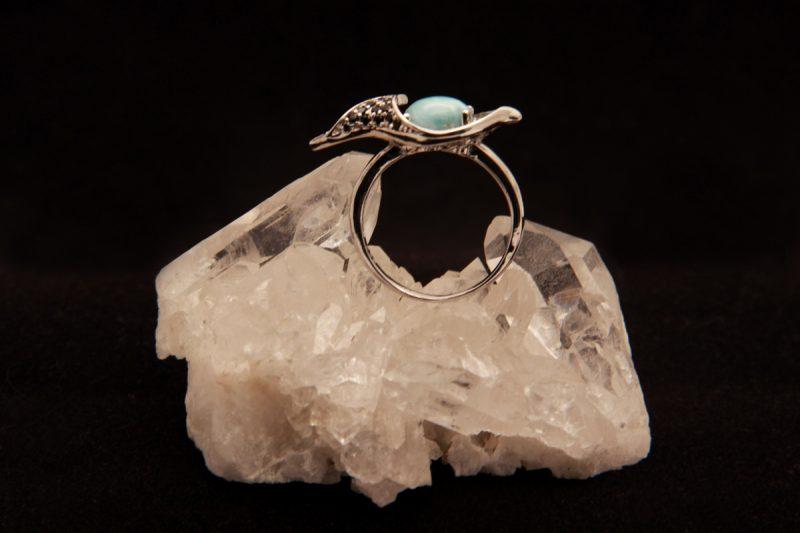 Larimar prsten