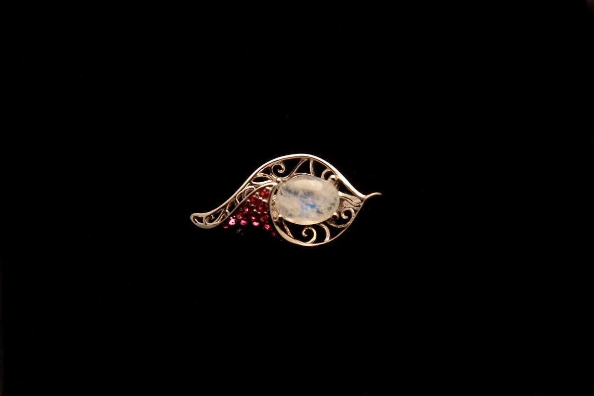 Srebrni nakit s kamenjem