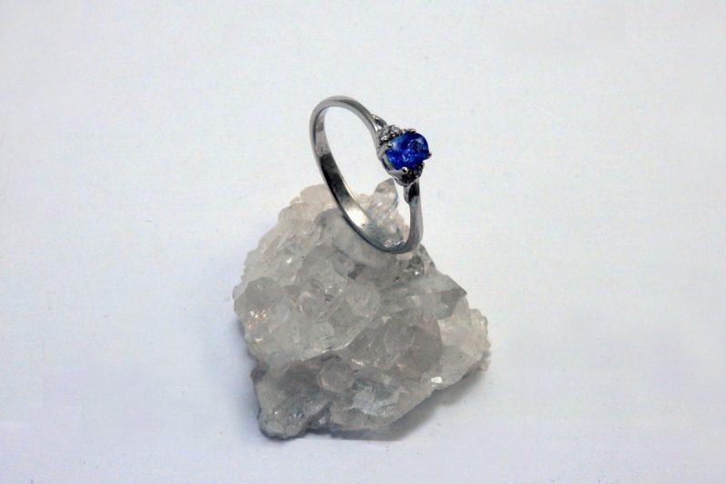 tanzanit prsten