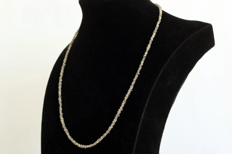 Ogrlica neobrađeni dijamanti