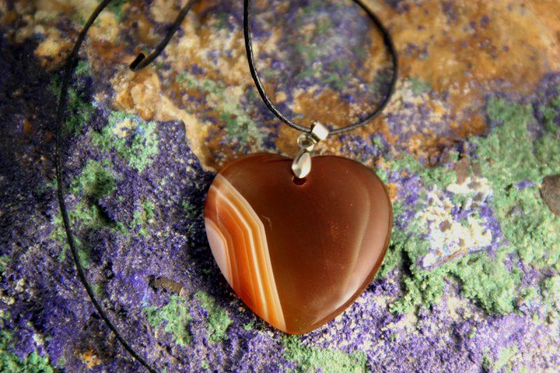 Karneol srce