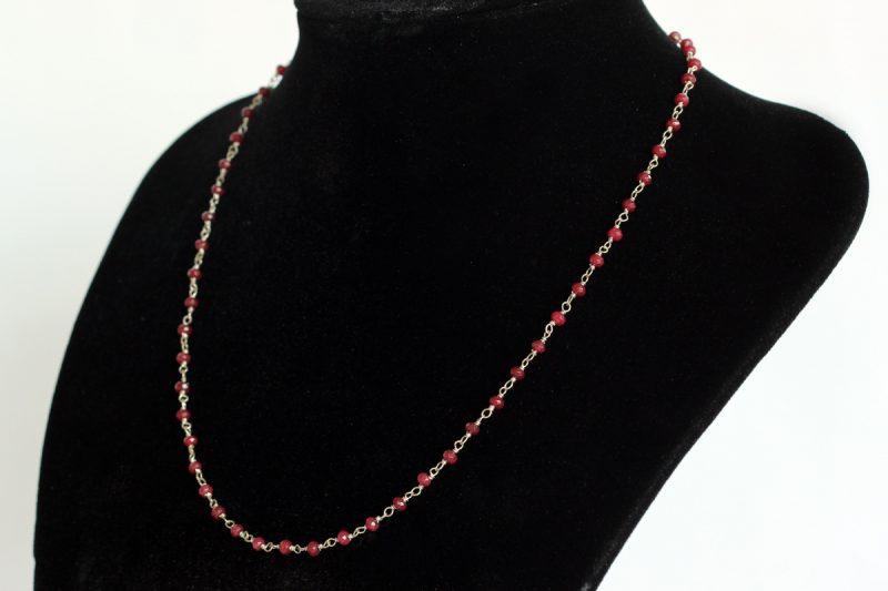 Ogrlica rubini