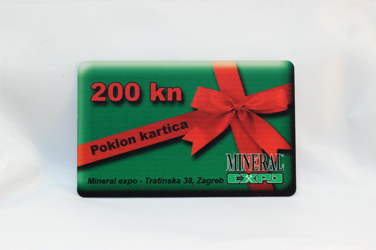 Poklon kartica 200kn