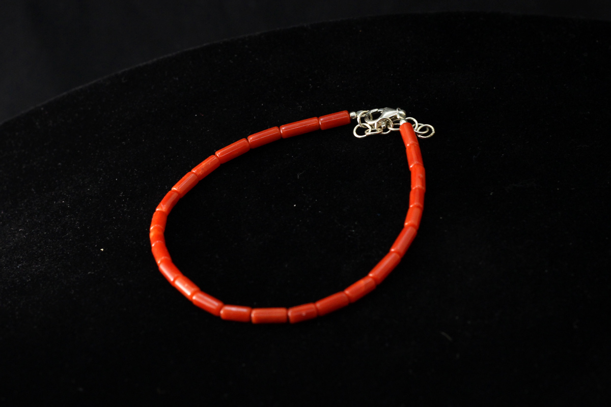 Narukvica od crvenog Jadranskog koralja